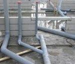 Loodgietervlas rioleringen zijn niet altijd op de juiste wijze aangesloten waardoor er problemen kunnen ontstaan